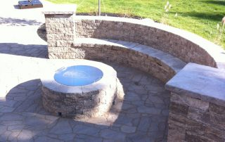 Fire Feature and Stonework
