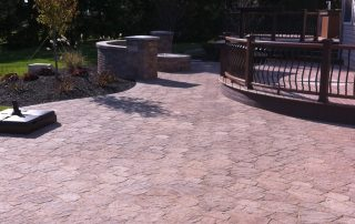 Brick & Paver Patio Installer's Finished Work