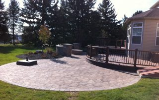 Brick & Paver Patio Contractor's Finished Work