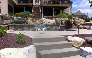 Stone Step Hardscaping